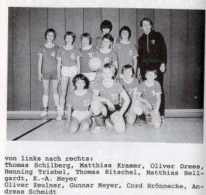 Die VSG-DJugend 1981