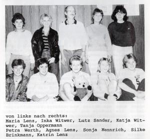 Die VSG-Damen der 80er Jahre