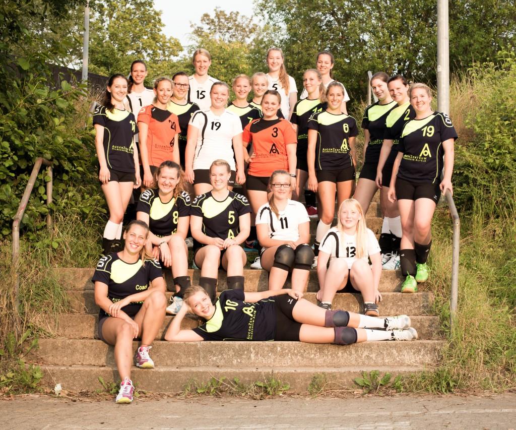 2.+3. Damen - 2014/2015